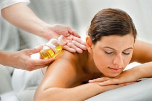 Relaxation with essential oils